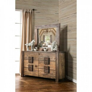 Blocher 6 Drawer Double Dresser by Foundry Select