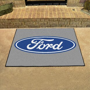Ford - Ford Oval All Star Doormat By FANMATS