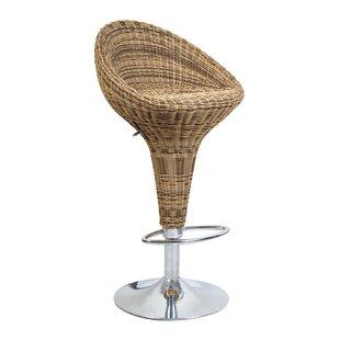 wicker rattan seat bar stools wayfair co uk