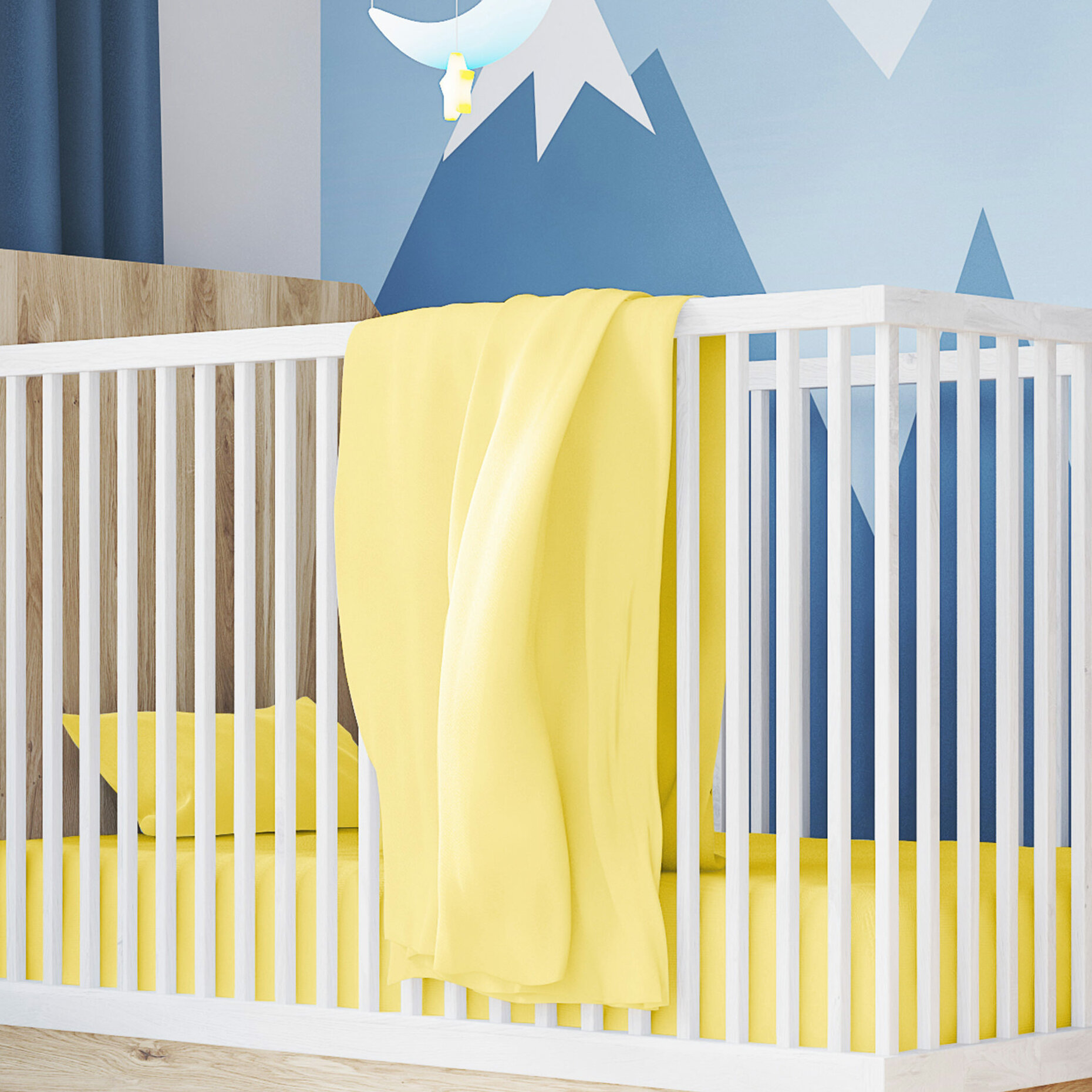 5bb760941891c Ottmar 100% Cotton Toddler Jersey Fitted Baby Crib Sheets