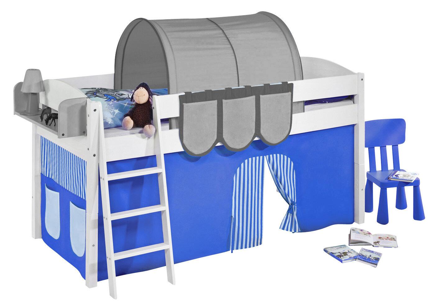 Etagenbett Vorhang Blau : Etagenbett vorhang set lilokids dinos mit und