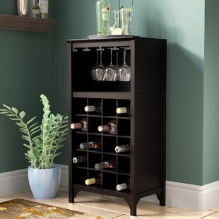 Shanley 20 Bottle Floor Wine Glass Rack b..