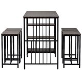 Clintwood 5 - Piece Dining Set by 17 Stories