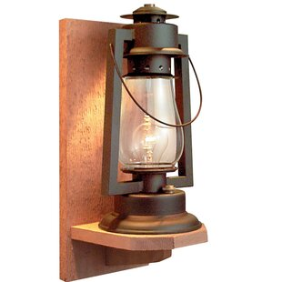 America's Finest Lighting Company Pioneer Series 1-Light Outdoor Sconce
