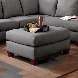 Higgins Ottoman by Klaussner Furniture