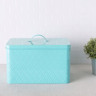 Tin Bread Box 13 qt. Kitchen Canister