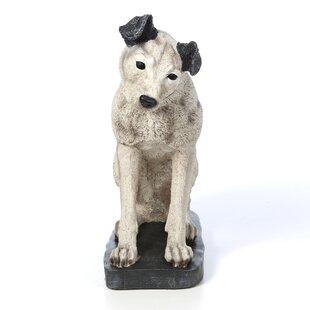 Design Toscano Nipper RCA Dog Statue