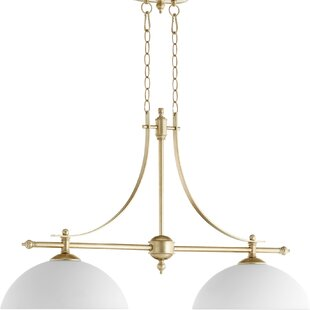 Alcott Hill Eastchester 2-Light Kitchen Island Pendant