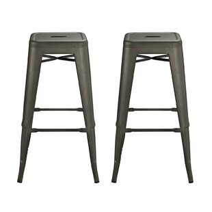 Ashlyn 30 Square Bar Stool (Set of 2) by ..