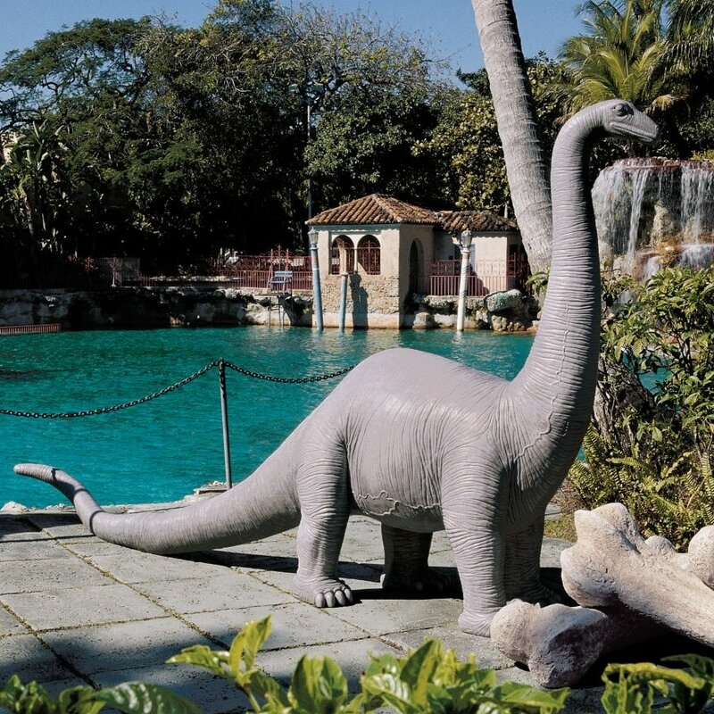Boris The Brontosaurus Garden Statue