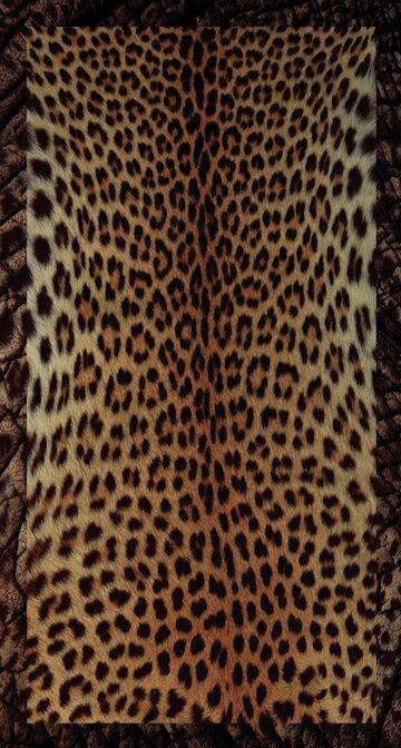 World Menagerie Maravilla Cheetah 2 Rectangle Plastic Vinyl Non Slip Animal Print Shower Mat Reviews Wayfair