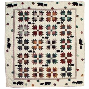 August Grove Aoife Bear's Paw Quilt