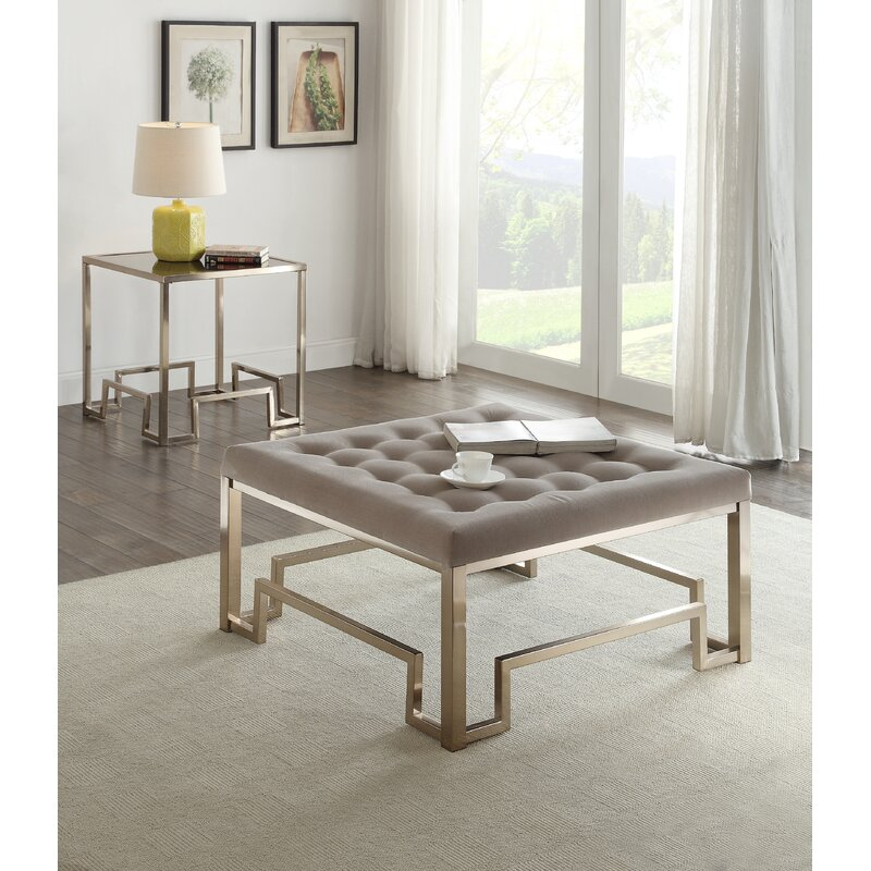 Captivating Damien Fabric Coffee Table