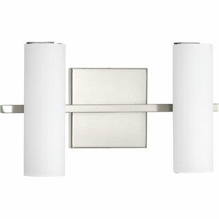 Orren Ellis Flaherty 2-Light LED Vanity Light