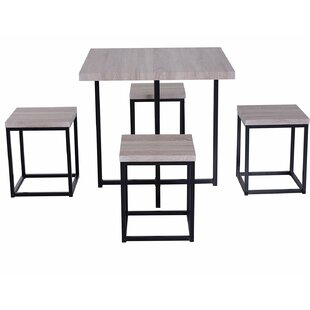 Moya Space Saving 5 Piece Dining Set