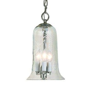 Journey 3-Light Bell Pendant by Alcott Hill