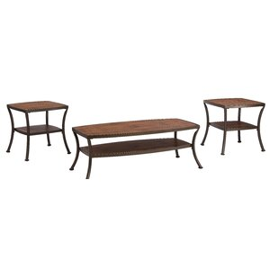Laverne Modern 3 Piece Coffee Table Set