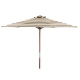 Classic Wood 9 Market Umbrella