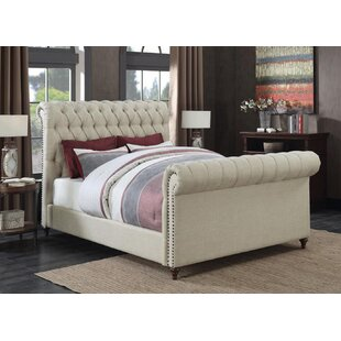 Patel Upholstered Panel Bed
