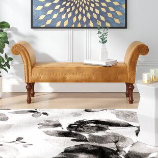 Escalera Upholstered Bench By Astoria Grand