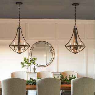 Loon Peak Reimers 4-Light Foyer Pendant