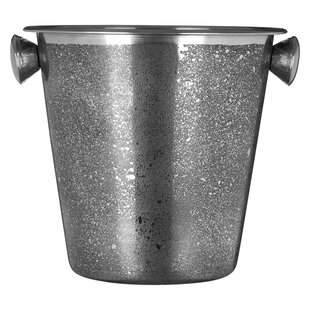 Burlington Stainless Steel With Handles Champagne Bucket By Rosdorf Park
