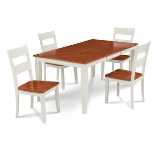 Charlestown 5 Piece HardSolid Wood Dining..