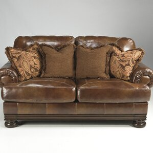 Hutcherson Leather Sofa by Signature Design by Ashley
