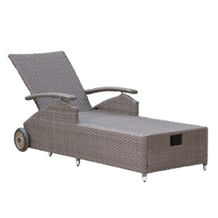 Watts Reclining Sun Lounger By Sol 72 Outdoor