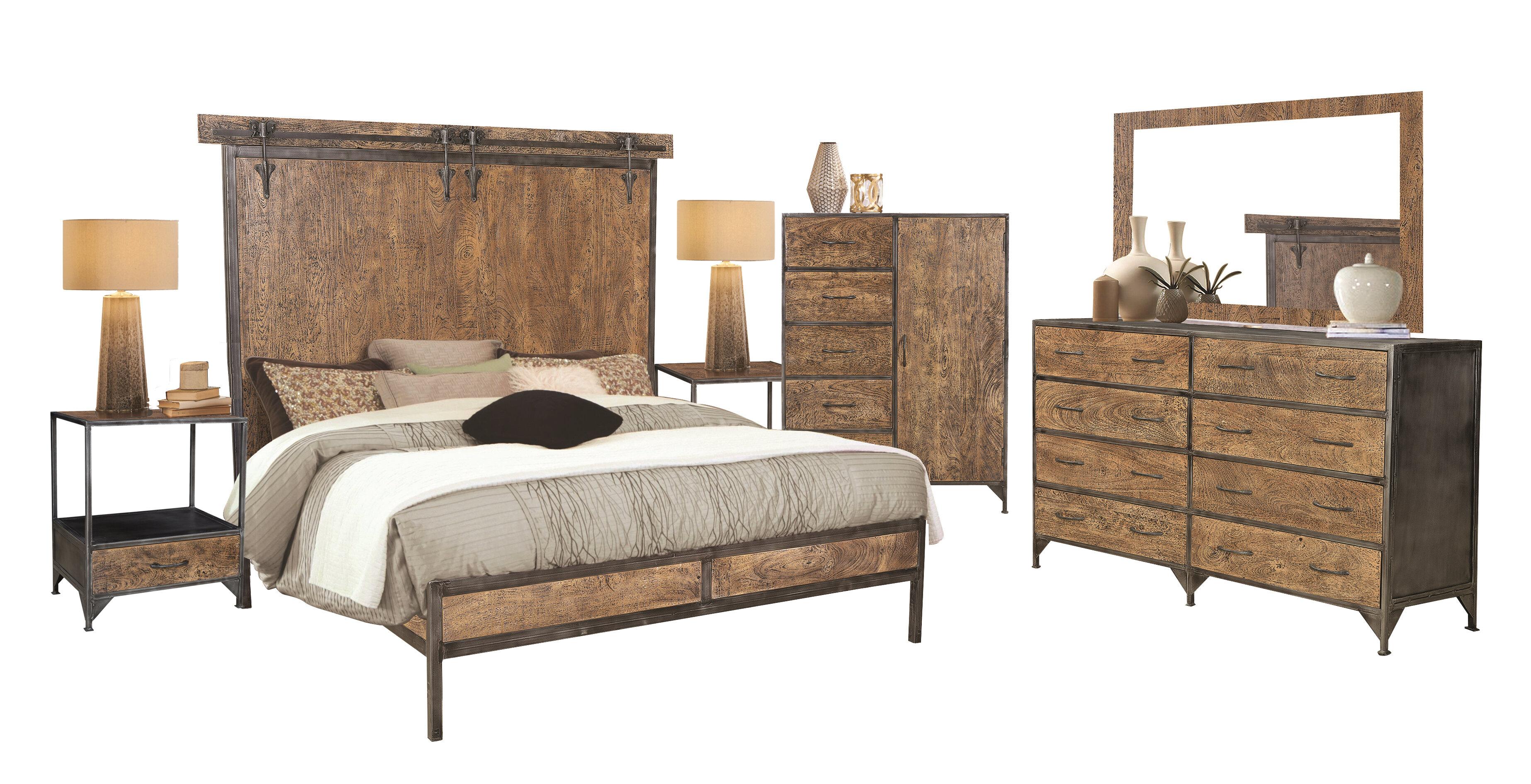 Williston Forge Beacon Standard 5 Piece Bedroom Set Wayfair