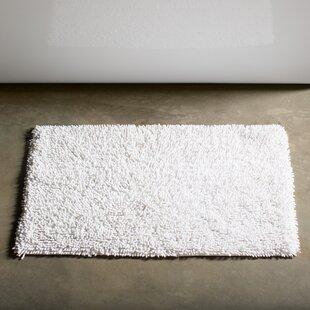 Eastcotts 100% Cotton Chenille Shaggy Spray Latex Back Bath Rug ByWinston Porter