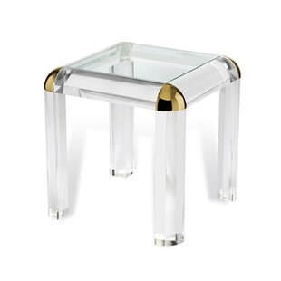 Hollywood Regency End Table