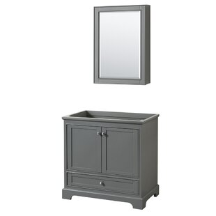 Deborah 35.25 Single Bathroom Vanity Base by Wyndham Collection
