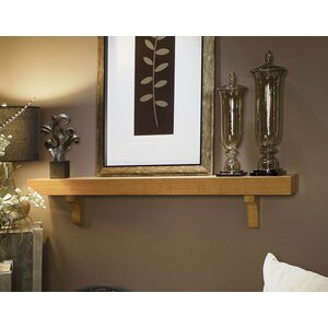 Shaker Box Fireplace Mantel Shelf