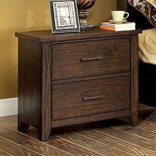 Milton 2 Drawer Nightstand