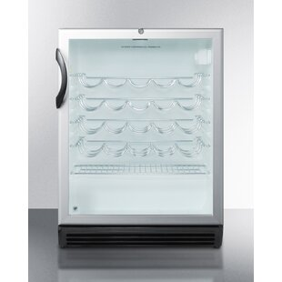 36 Bottle Single Zone Freestanding Commercial Wine Cooler