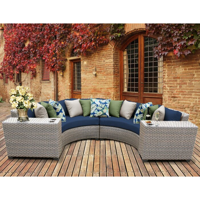Sol 72 Outdoor Merlyn Patio Sofas   Item# 11522