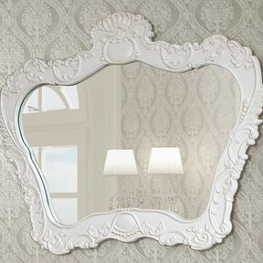 Inexpensive 42.7 H x 47.2 W Mirror By InFurniture