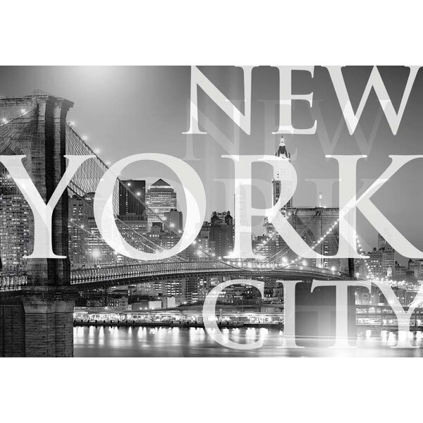 New York City Wall Mural brewster home fashions komar new york city wall mural & reviews