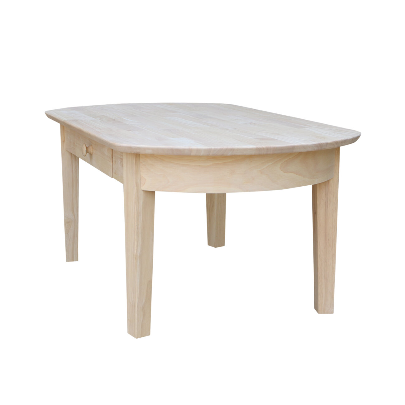 International Concepts Unfinished Wood Philips Coffee Table Reviews Wayfair