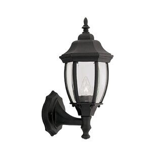 Inexpensive Thornhill 1-Light Outdoor Wall lantern By Three Posts