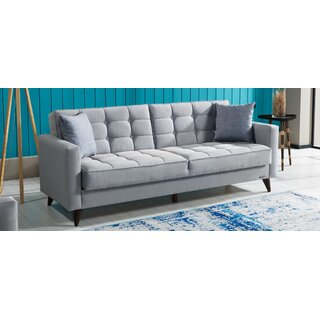 Orlando Convertible Sleeper Sofa, Gray by Brayden Studio SKU:CE951428 Details