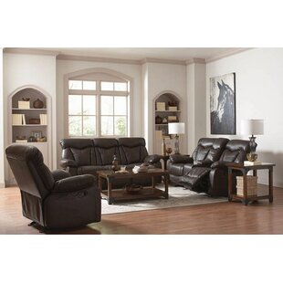 Amick Motion 3 Piece Reclining Living Room Set by Canora Grey