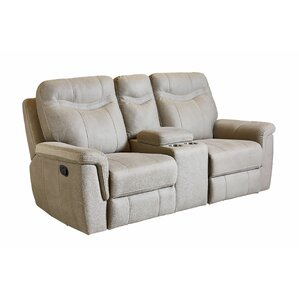 Red Barrel Studio Garretson Manual Console Reclining Sofa Image