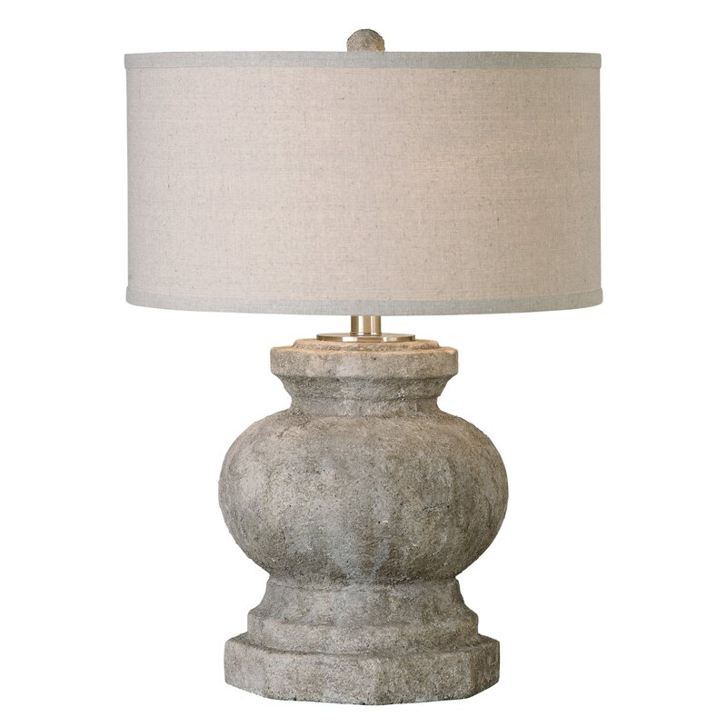 """26.5"""" Table Lamp #stonelamp #FrenchCountry"""