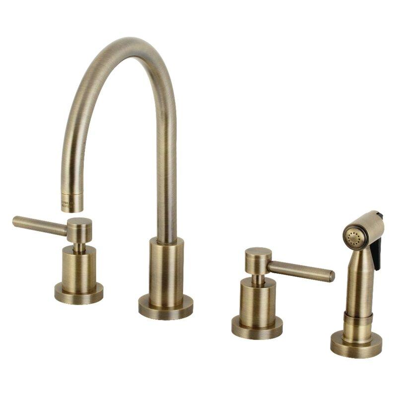 Concord Double Handle Kitchen Faucet