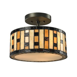 Bloomsbury Market McManus 3-Light Semi Flush Mount