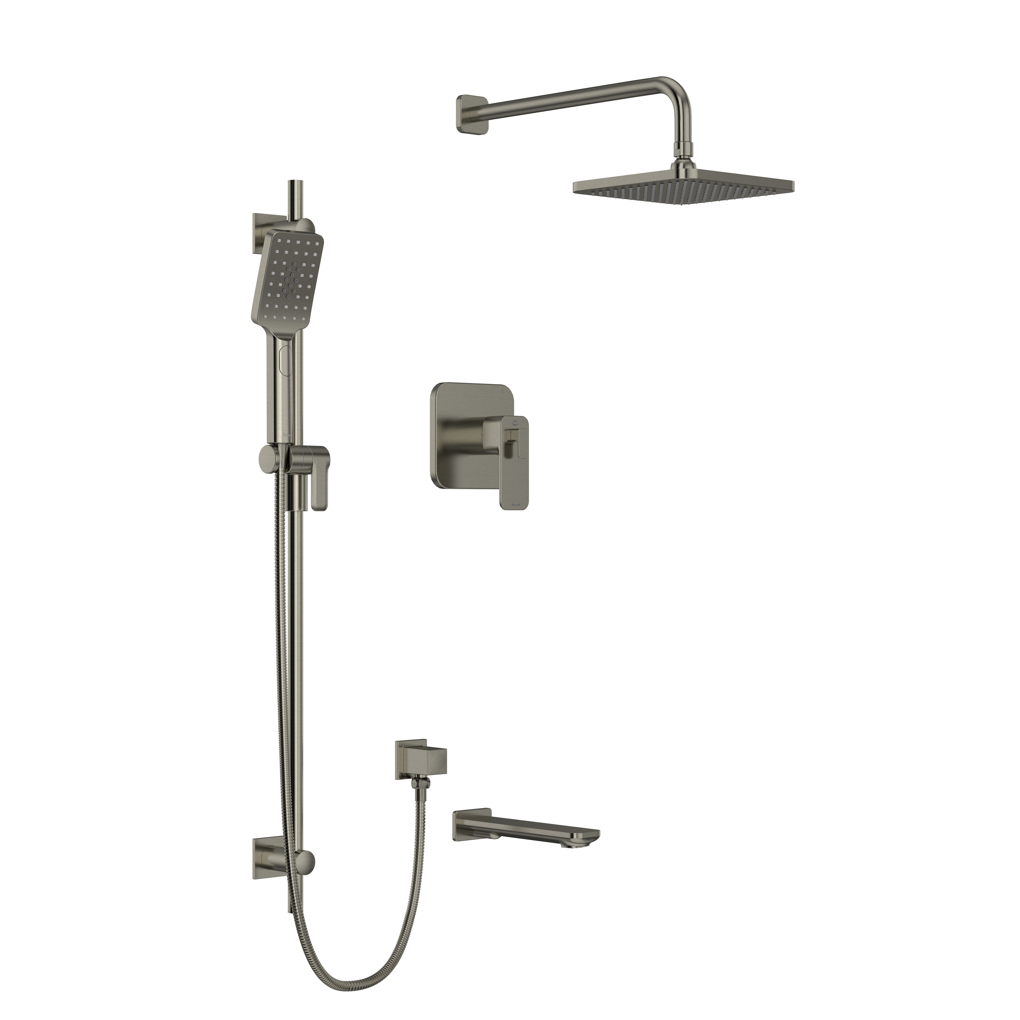 Riobel Equinox 1 2 Pressure Balance Thermostatic Shower System With Up To 3 Functions Featuring Riowise Valve Technology Perigold