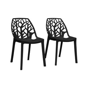 Raylan Stacking Patio Dining Chair (Set of 2)