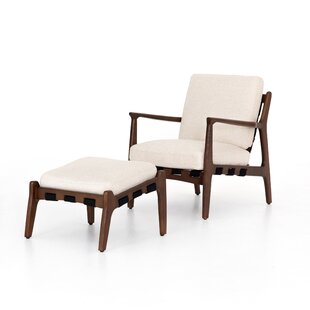Aiden Silas 22 Lounge Chair and Ottoman